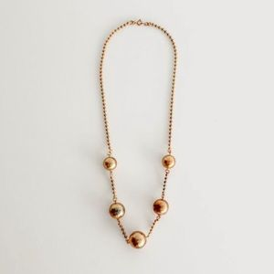 Vintage Ball Necklace